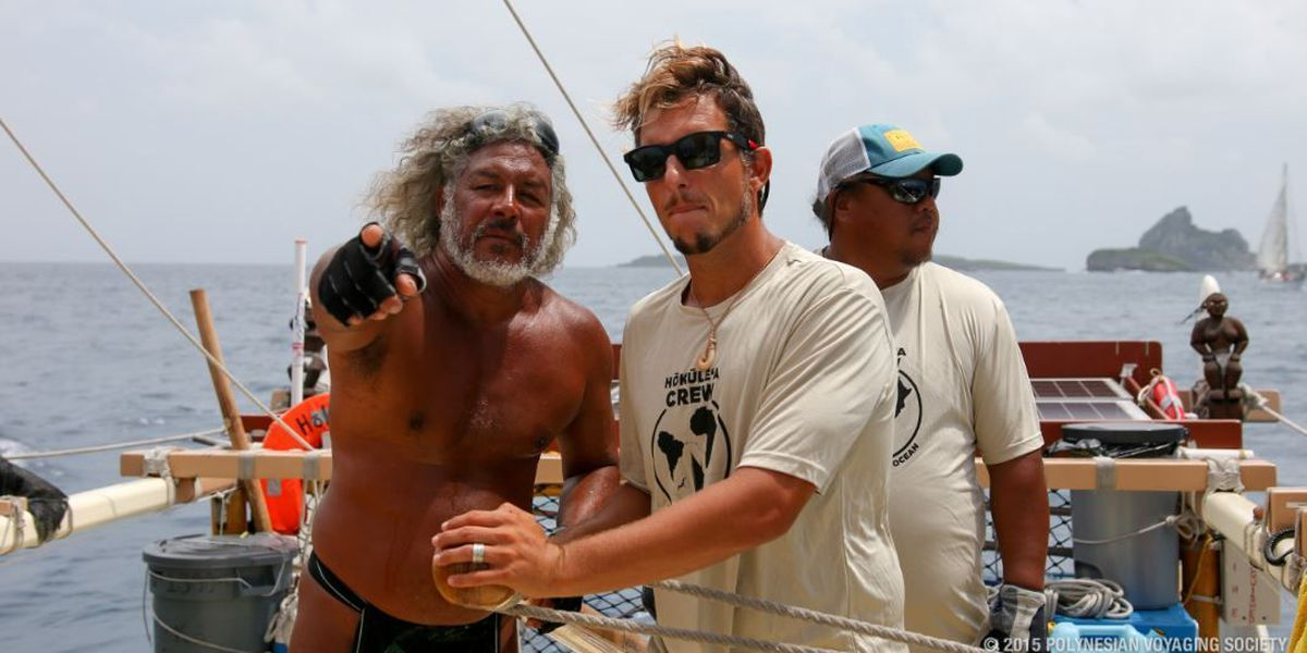 Hokulea headed for Natal, marks canoe's first time on South America continent