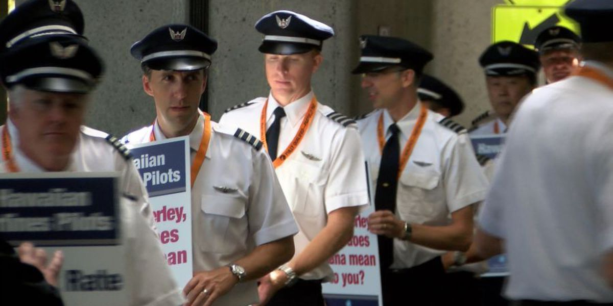 Hawaiian Airlines pilots to vote on strike authorization