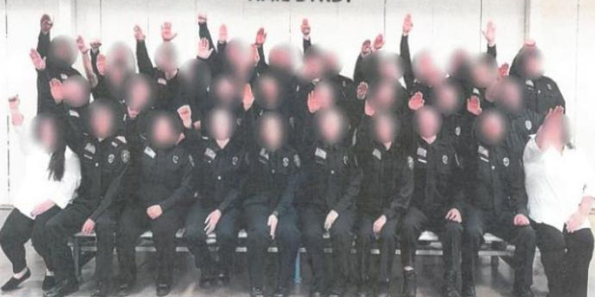 W. Va. gov. approves firings over Nazi salute photo