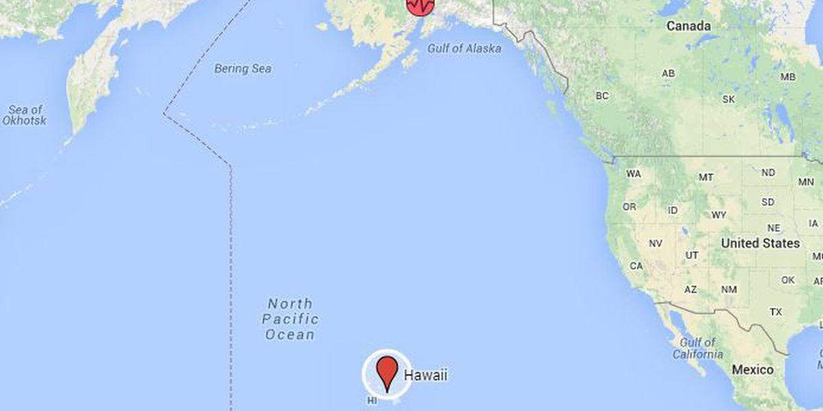 Strong earthquake shakes Alaska, no tsunami threat to Hawaii