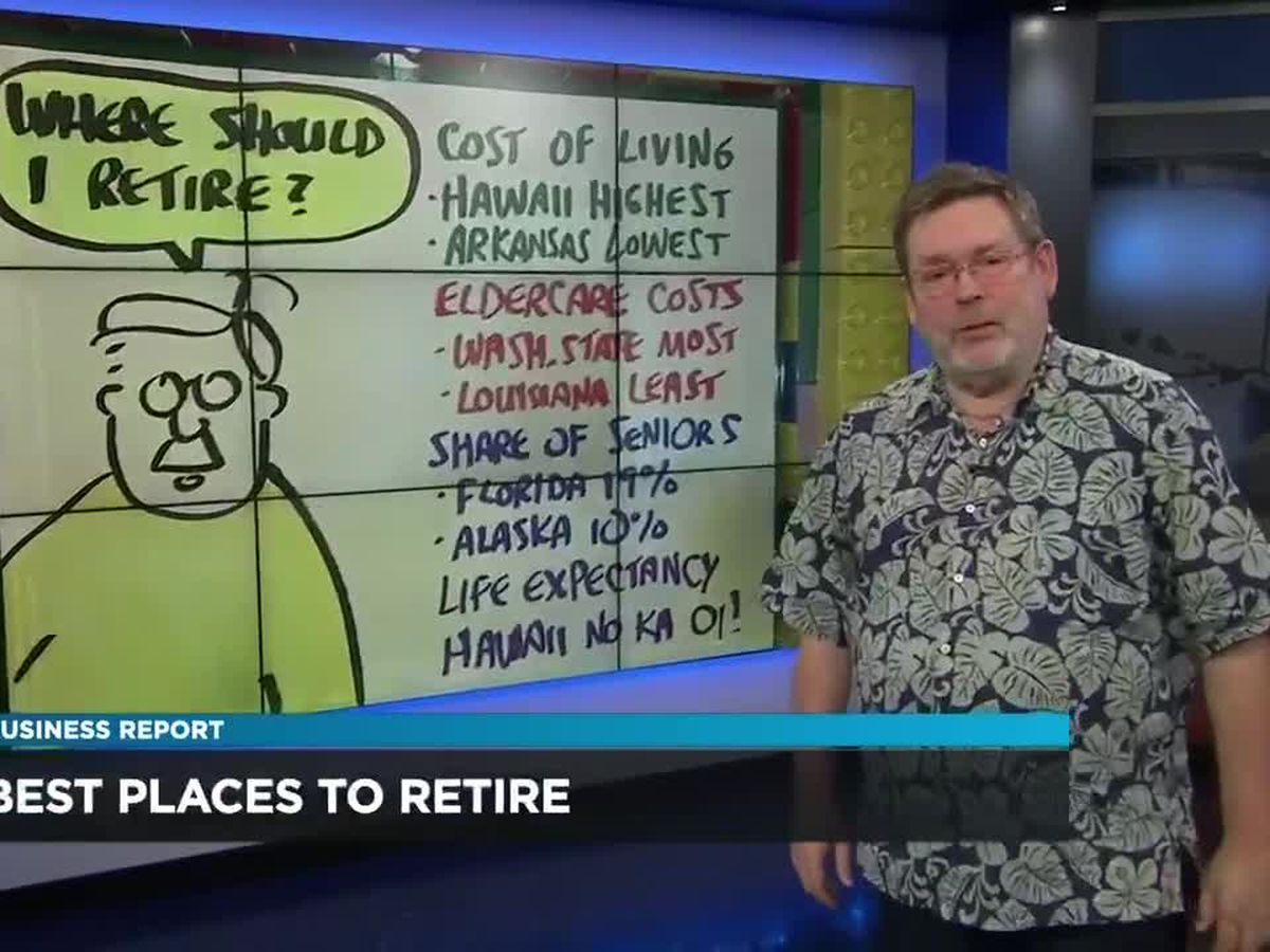 Business Report: The best states to retire to