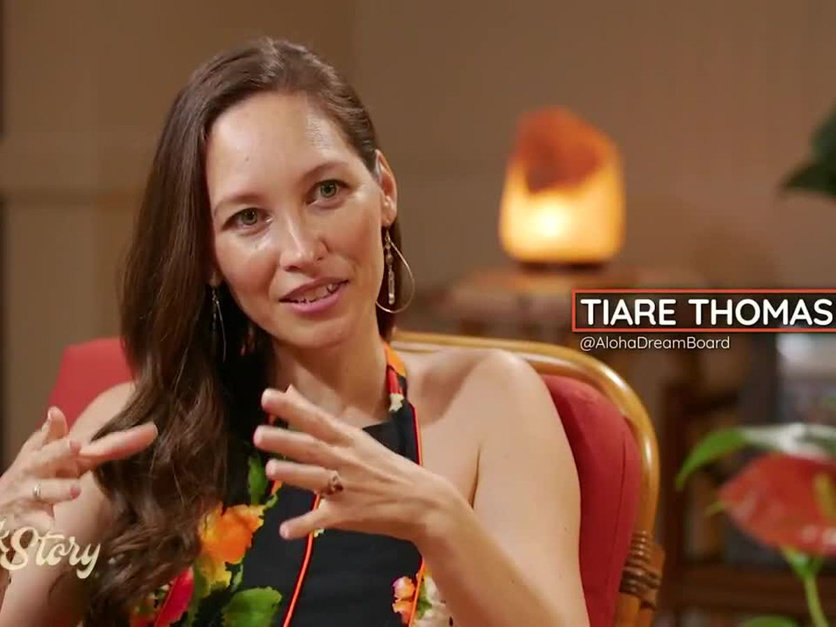 Tiare Thomas shares tips to raise the vibration of love on Talk Story