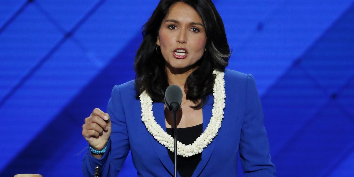 Gabbard skewers Trump on Saudi Arabia stance with profanity in tweet