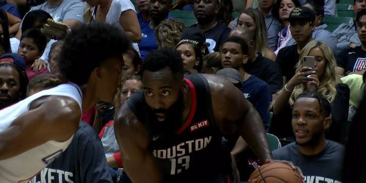 Harden puts on 37 point show to lead Rockets past Clippers 109-96