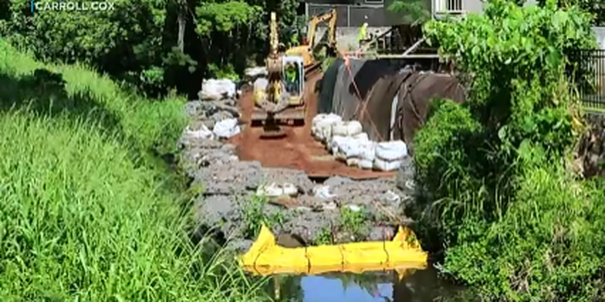 Engineering firm faces a hefty fine for allegedly altering part of Manoa stream