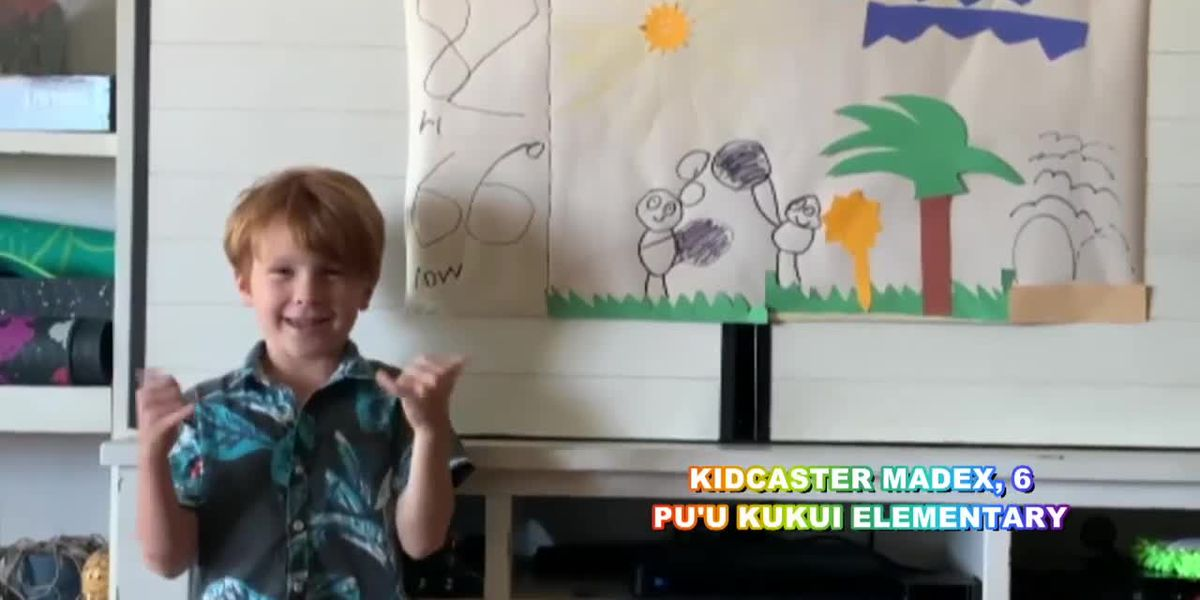 Let's Learn Together: Meet our newest kidcaster, Madex from Maui!