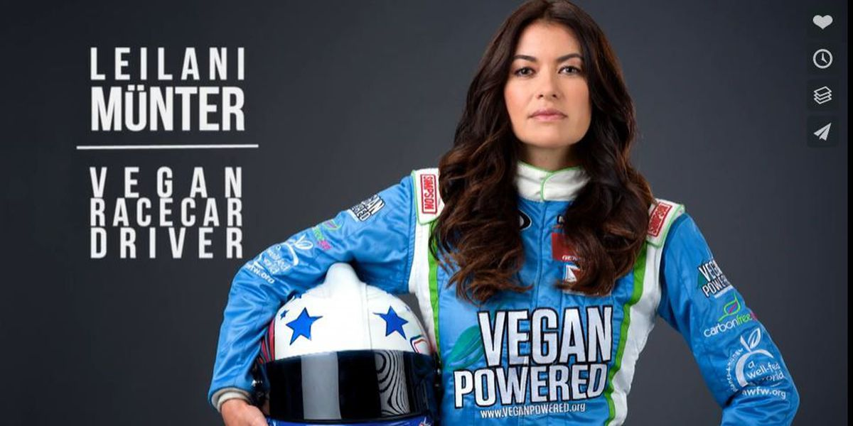 Professional race car driver, eco-activist with Hawaii ties in town for Vegan festival