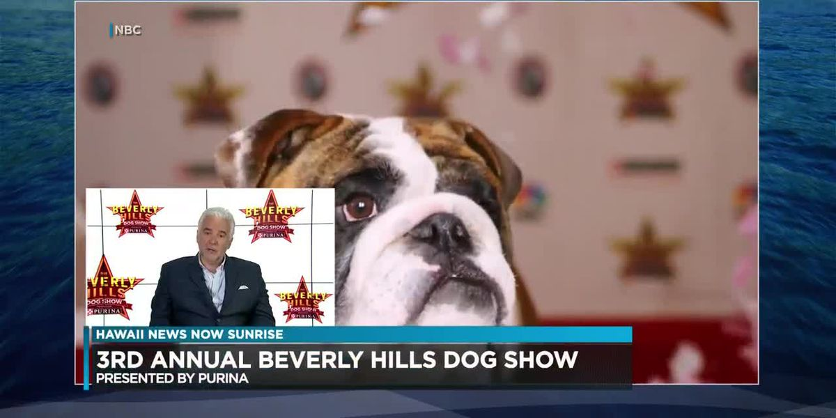 Beverly Hills Dog Show this Sunday