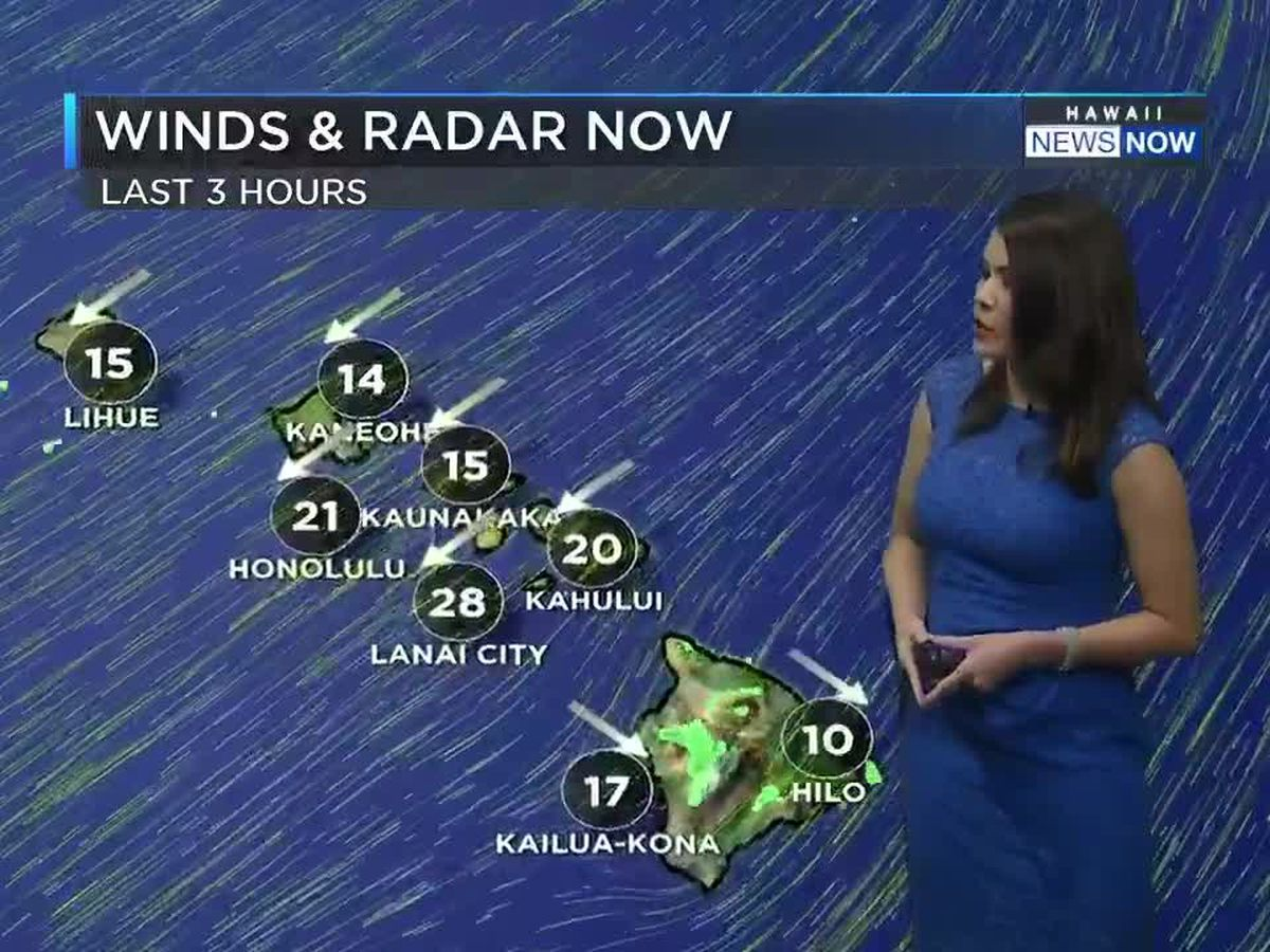 Pleasant trade winds will bring in the first day of Spring