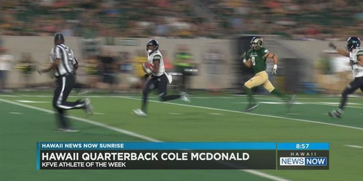 HI-Five Athlete: Cole McDonald