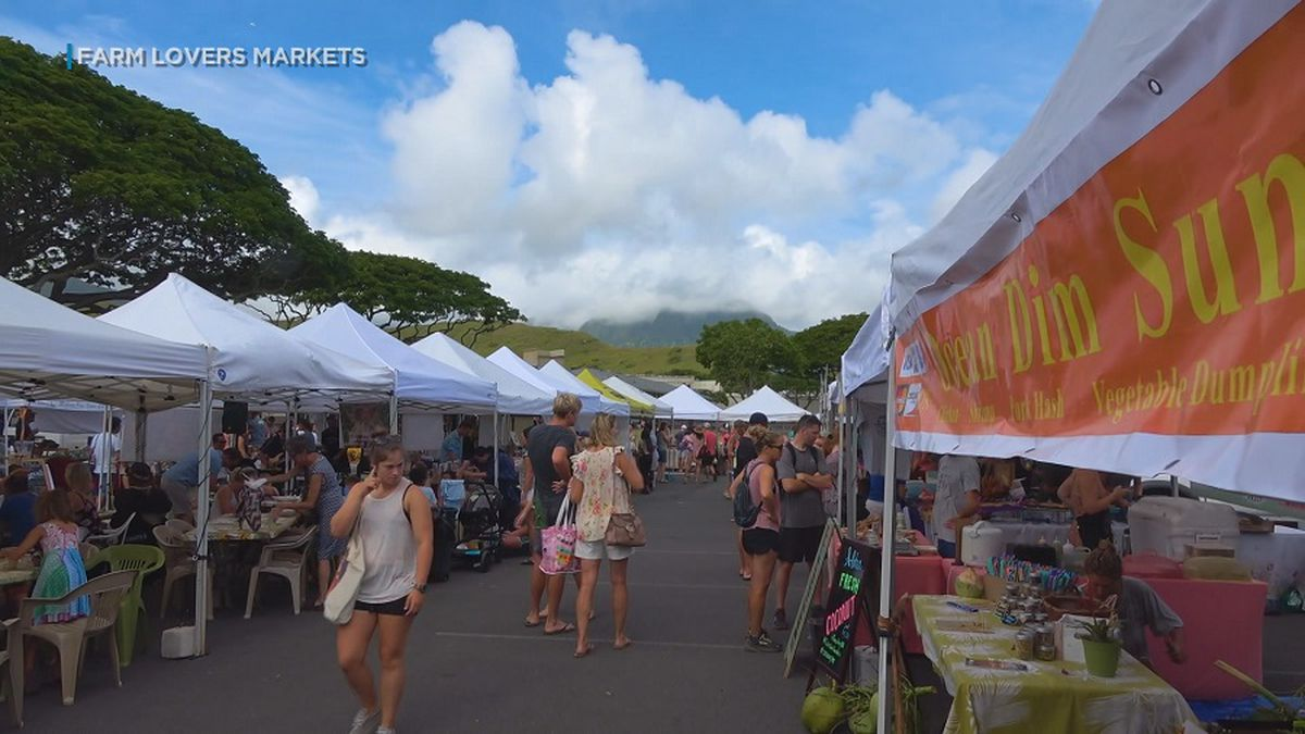 Kailua Town Farmers Market forced to relocate after DOE complaints