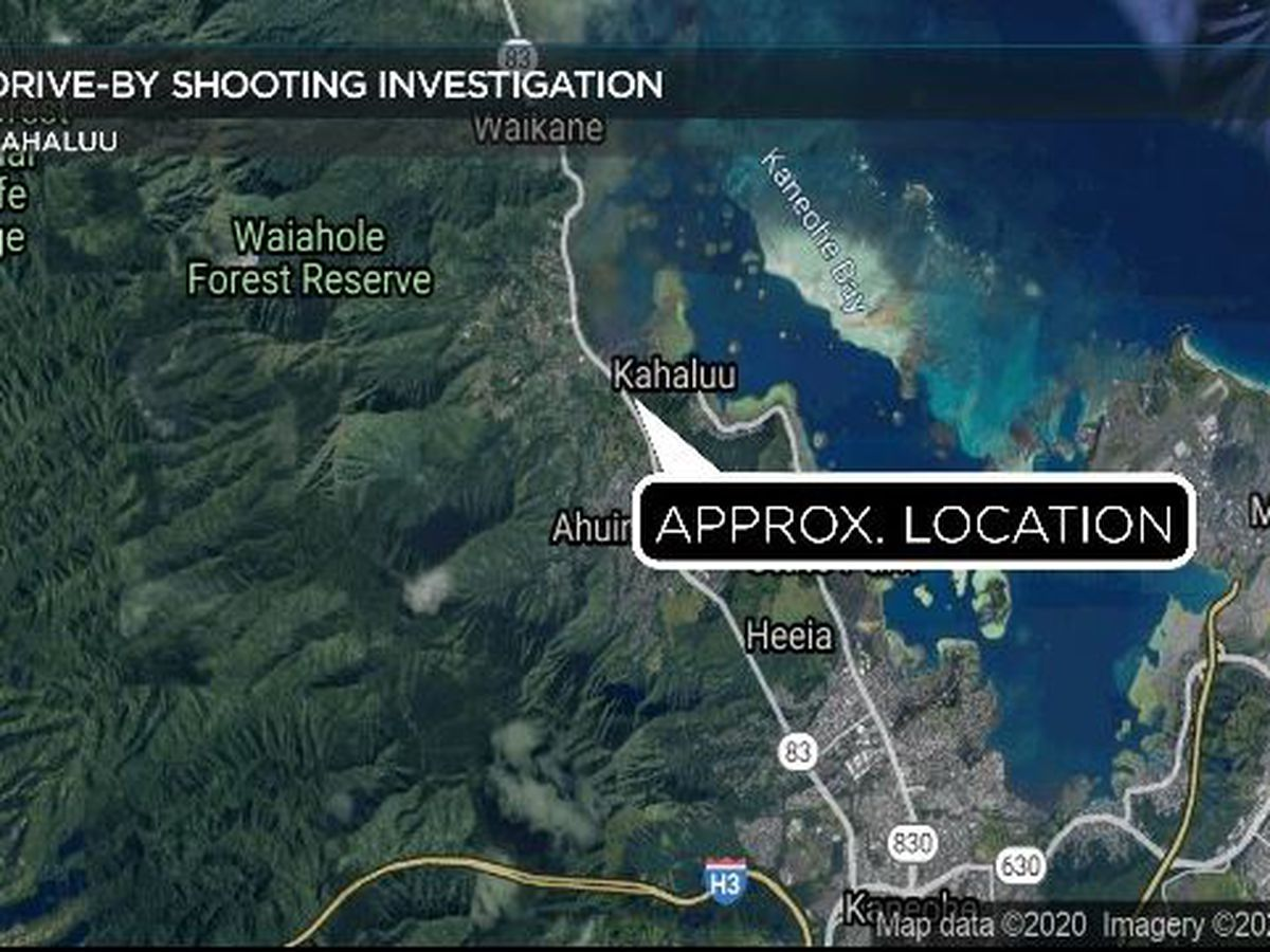 HPD searching for suspect after drive-by shooting in Kahaluu