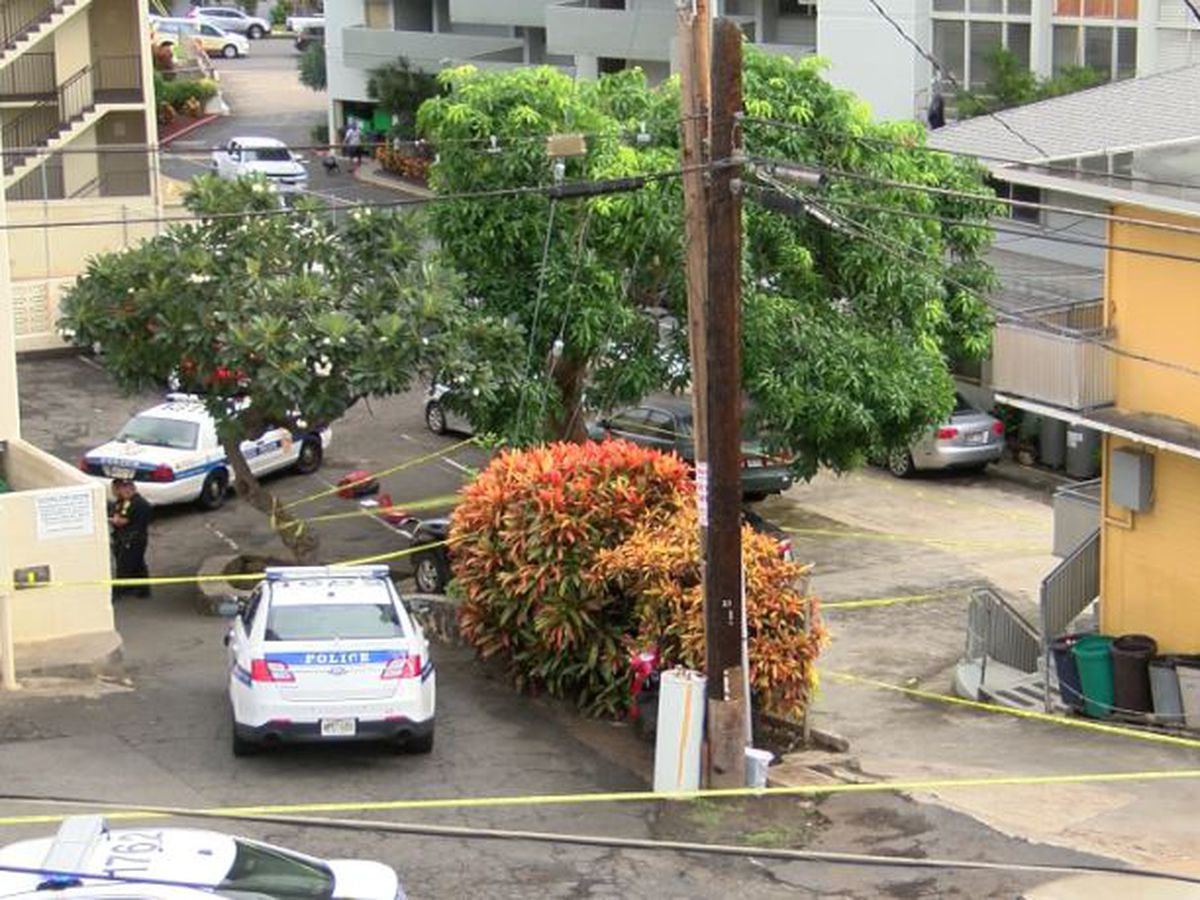 Elderly woman shot dead in Makiki; 74-year-old suspect arrested