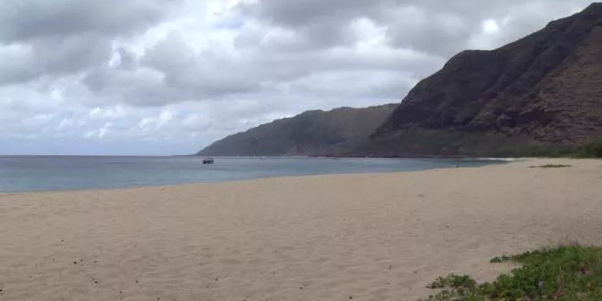 Army completes unexploded ordnance search off Makua Beach