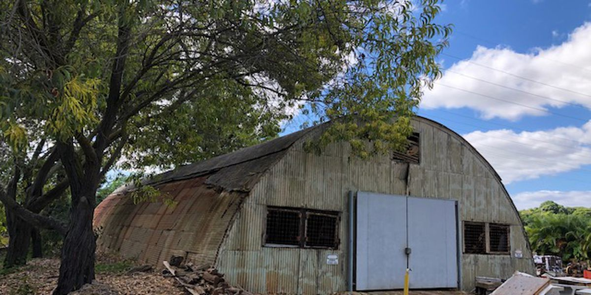 This rusty old warehouse has a possible tie to America's segregated history
