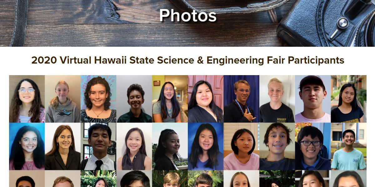 Thanks to a Big Island company, add 'science fair' to the list of events that have gone virtual