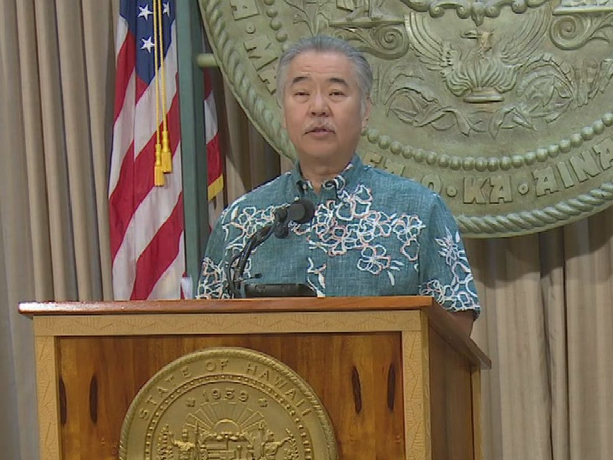 Ige says state is moving in the 'wrong direction,' but opts not to institute new restrictions