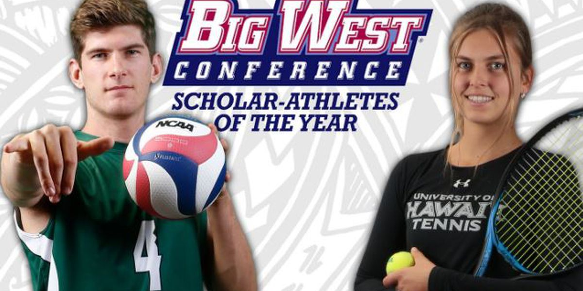 Warriors Tilburg and Melounova named Big West Scholar-Athletes of the Year