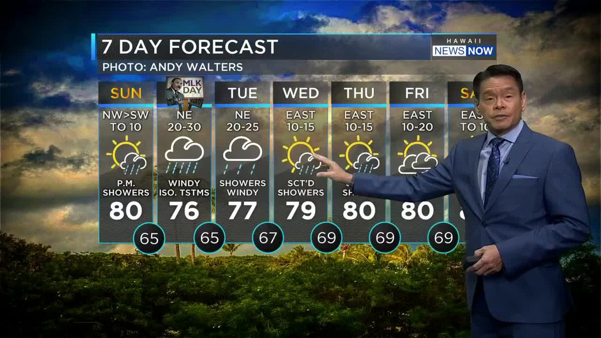 Forecast: Front to bring rain, chance of thunderstorms