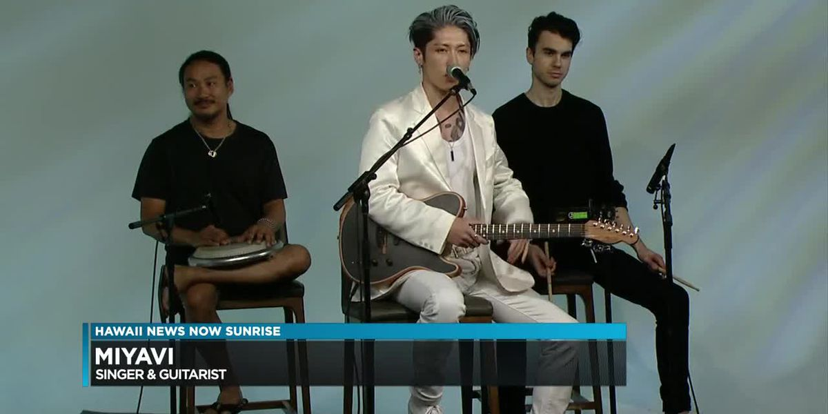 Musician from Japan gains international fame from unique style of guitar playing