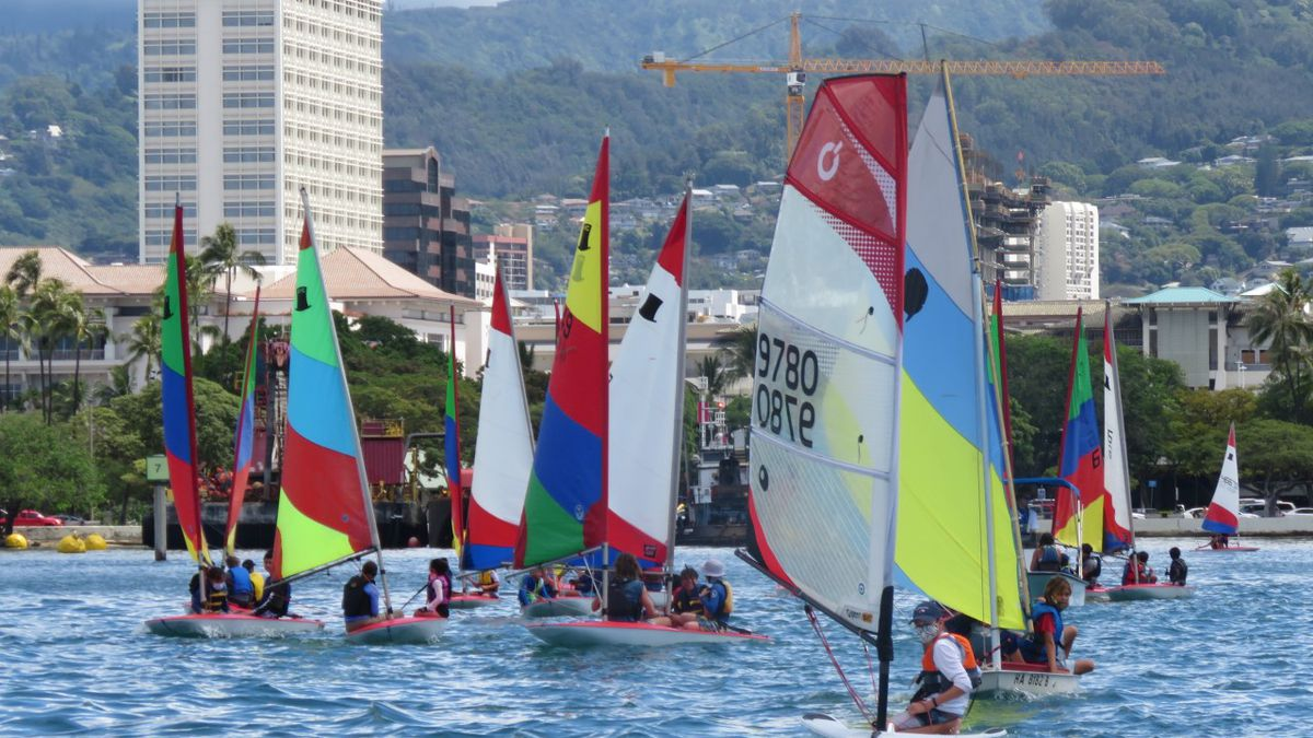 Popular youth sailing program sidelined by the pandemic is back on the water