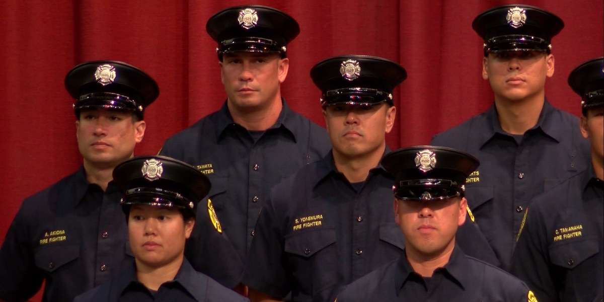 HFD graduates 42 new firefighters after months of intense training