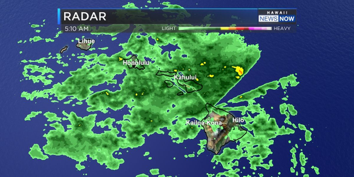Forecast: Scattered showers moving through the state