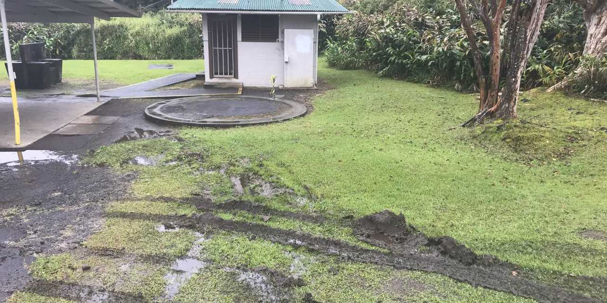 A theft of a water tank from a Hawaii Island park will cost taxpayers thousands