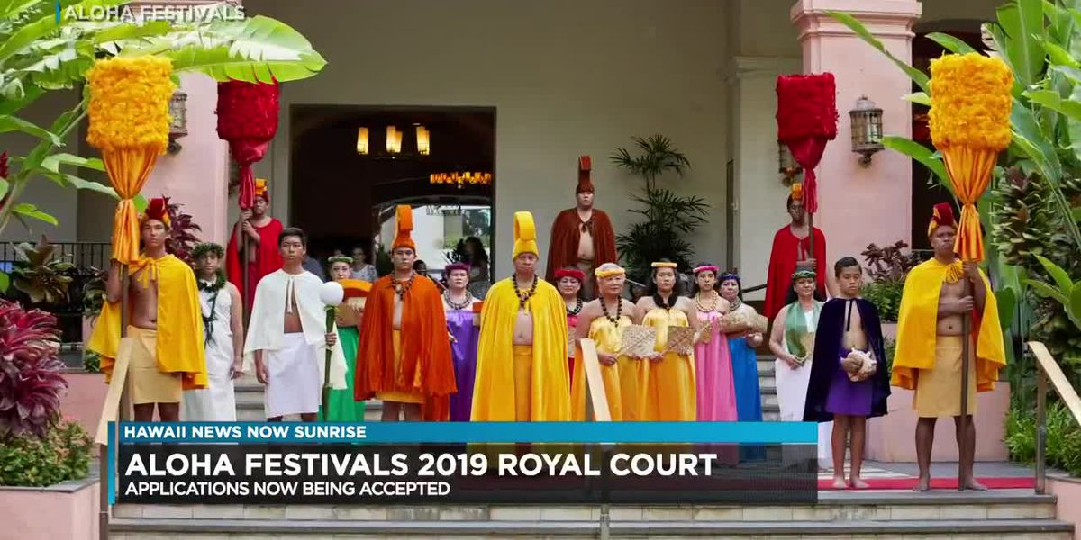 Aloha Festivals is looking for its 2019 Royal Court