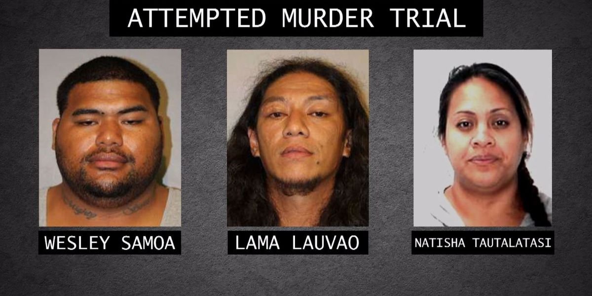 Jury delivers verdict for 3 suspects accused of attacking a Kona security guard