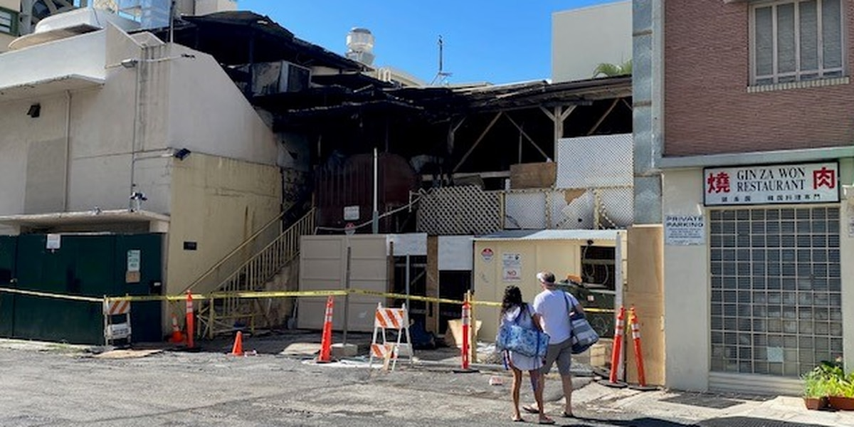 Arson investigation launched after large blaze at shuttered Waikiki pub
