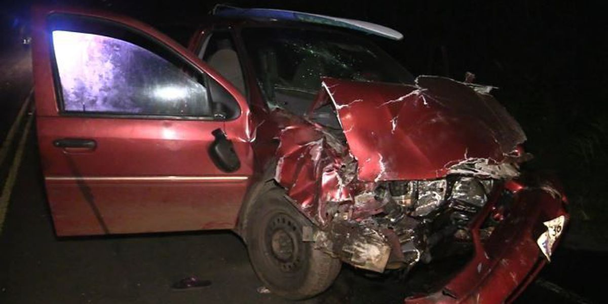 Man rescues 7 year old girl trapped in Pahoa car crash