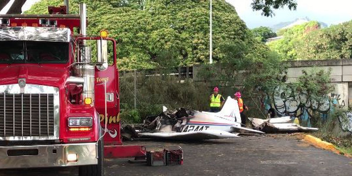 3 remain hospitalized after fiery plane crash near Moanalua