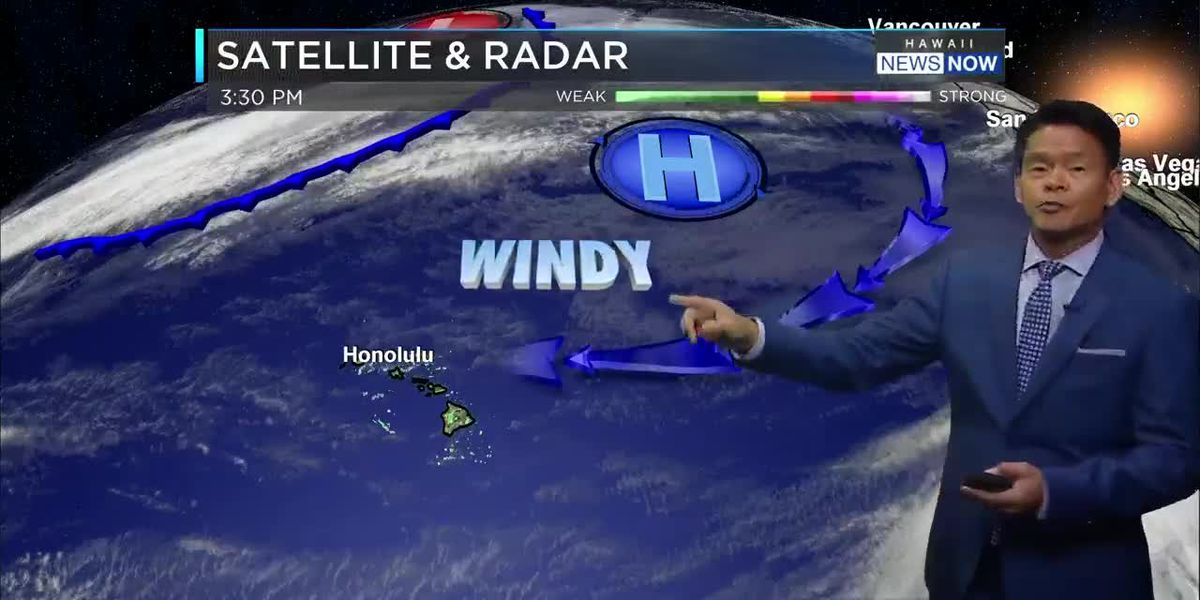 Forecast: Breezy trade winds, passing showers to continue