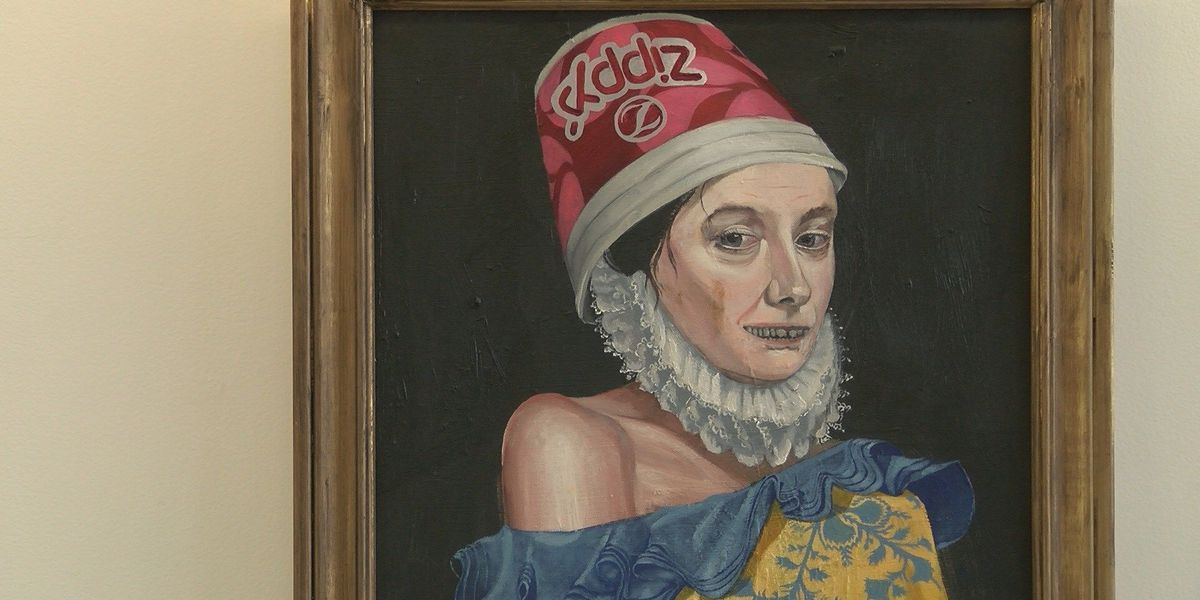 Is that a Zippy's bucket on her head? First impressions deceive at Kakaako art exhibit