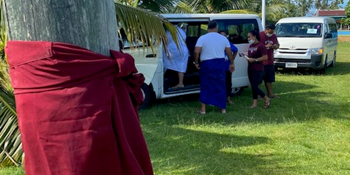 Samoa's mass vaccination effort continues as hospitals are overrun with patients