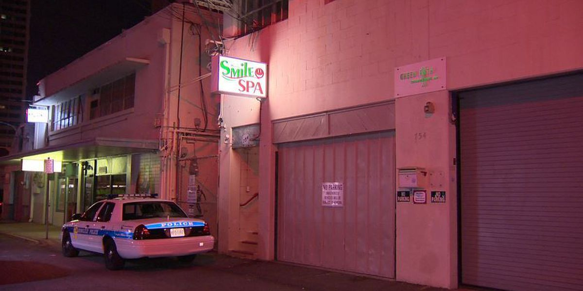 Honolulu police respond to armed robberies at 2 suspected massage parlors