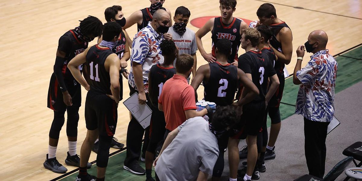 UH-Hilo men's basketball earn six PacWest conference honors