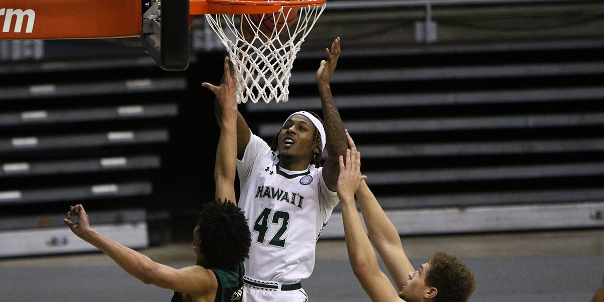 UH basketball get decisive victory over Cal Poly at home