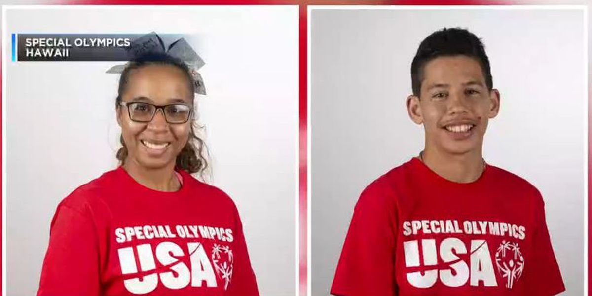 2 Hawaii Special Olympic athletes are gearing up for the World Games in Abu Dhabi