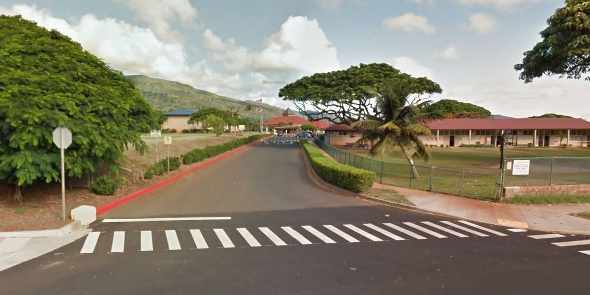 83-year-old statue outside Maui school damaged