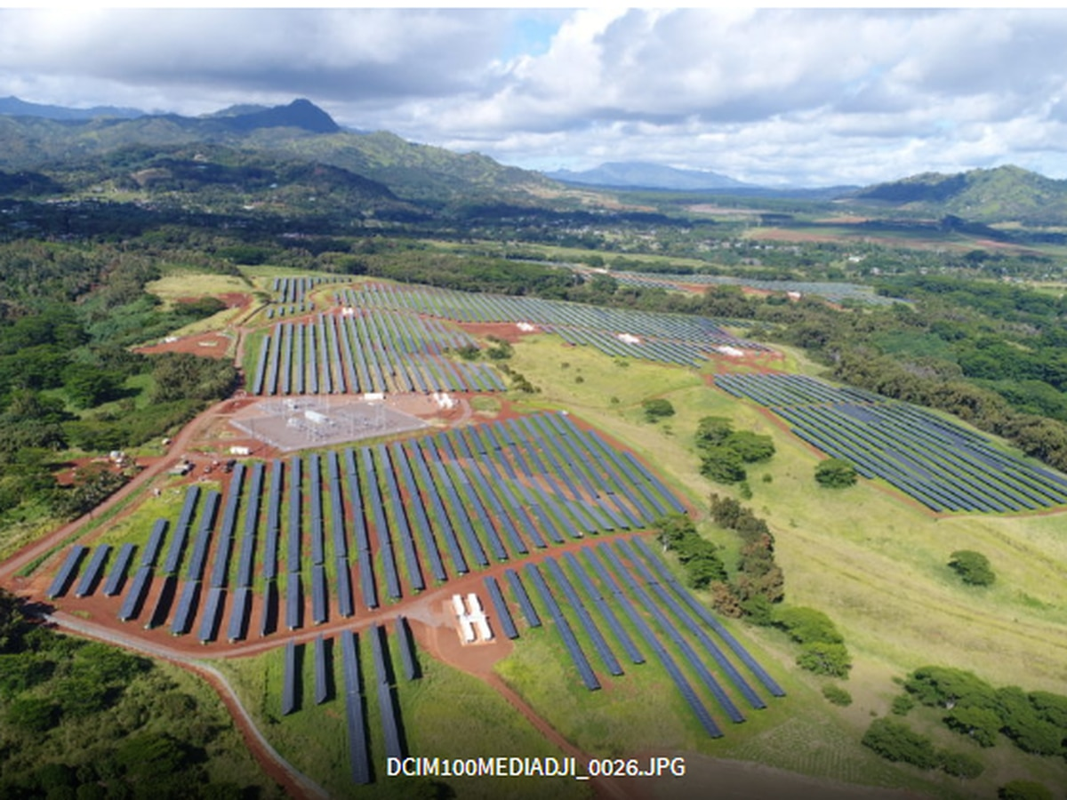 Solar farms are propelling Hawaii to reach its clean energy goals (for now)