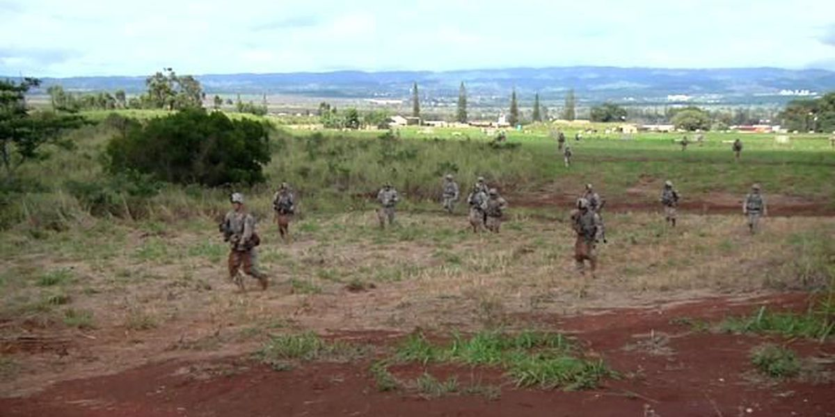 Army noise advisory for Schofield Barracks continues until Friday