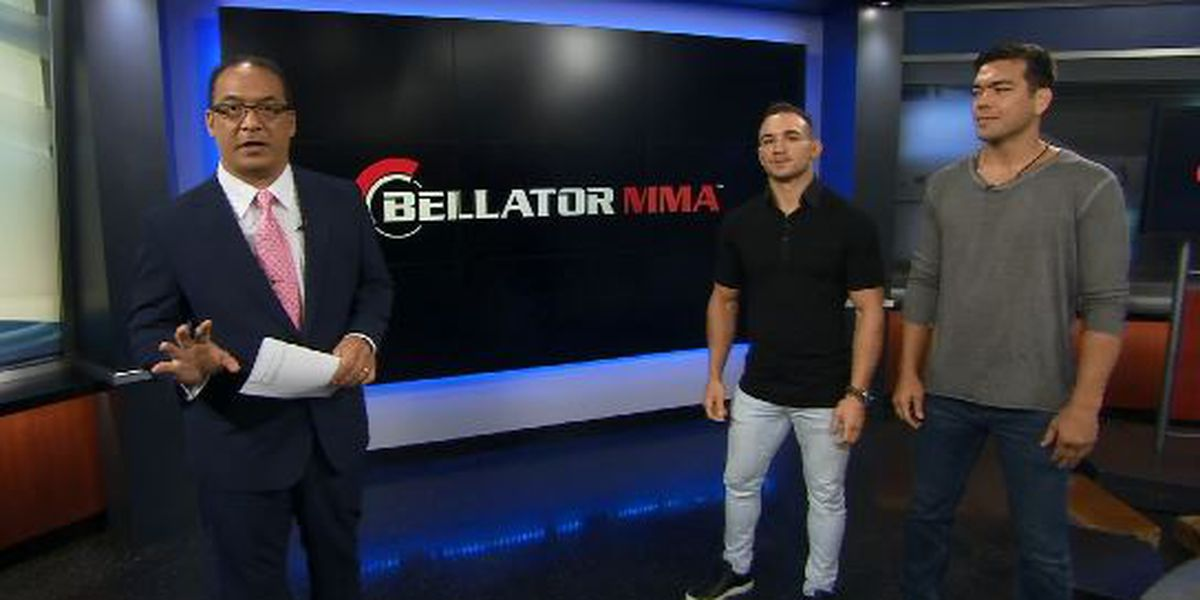 Bellator's Chandler, Machida join Hawaii News Now Sunrise to preview Bellator 212, 213