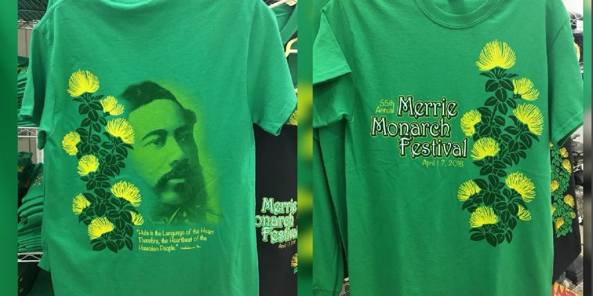 2018 Merrie Monarch shirts, totes now on sale