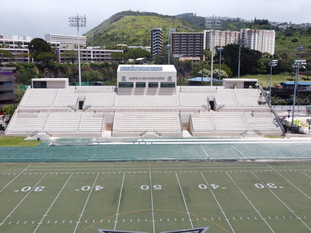 UH looks for community donations to improve campus field ahead of football games