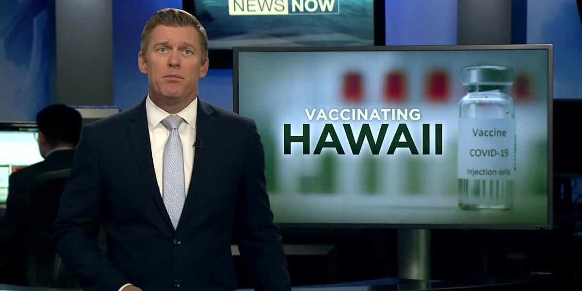 Hundreds get immunized at Oahu's first mass vaccination site