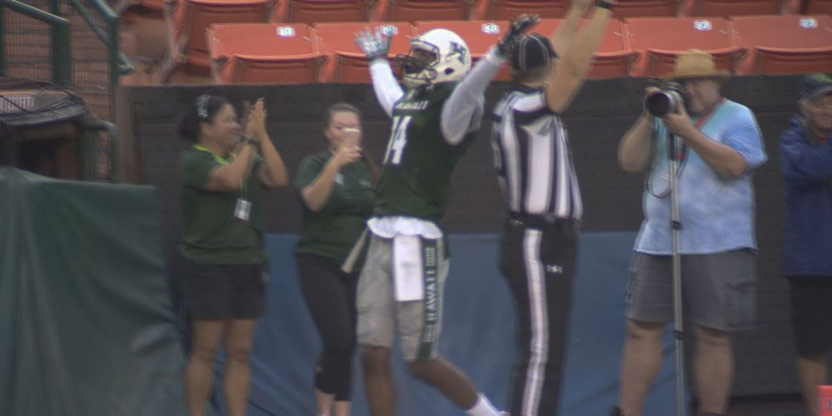 Former Rainbow Warrior receiver Marcus Kemp promoted to Kansas City Chiefs 53-man roster