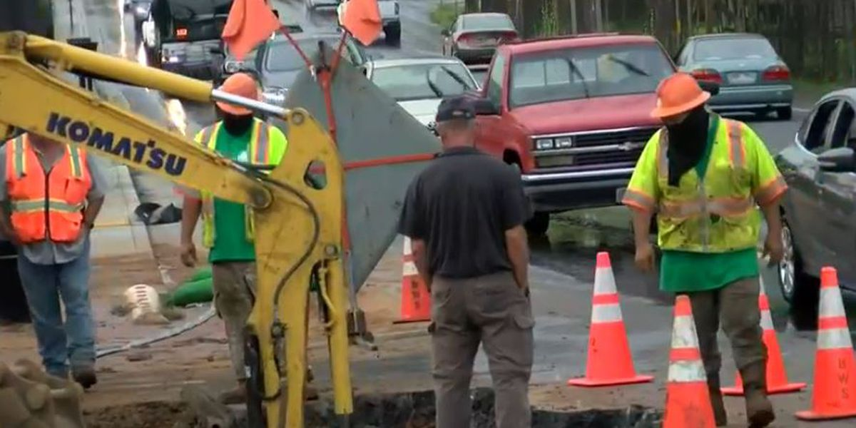 Water service restored to Waimanalo, final repairs to water main ongoing