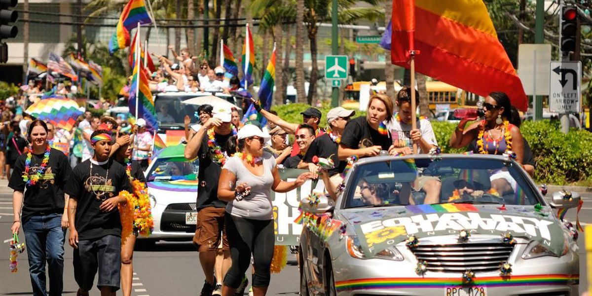 Pride month hits Honolulu promoting equality, celebrating love